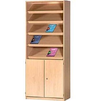 kindergartenm bel und schulm bel online kaufen zeitschriften prospektschrank bxhxt 80 x 190. Black Bedroom Furniture Sets. Home Design Ideas