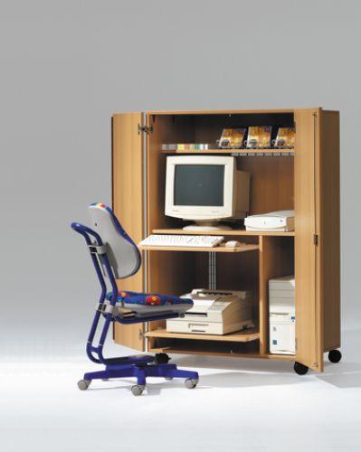 kindergartenm bel und schulm bel online kaufen edv 1000 edv schrank roki. Black Bedroom Furniture Sets. Home Design Ideas